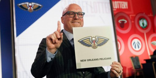 David Griffin with the #1 Pick